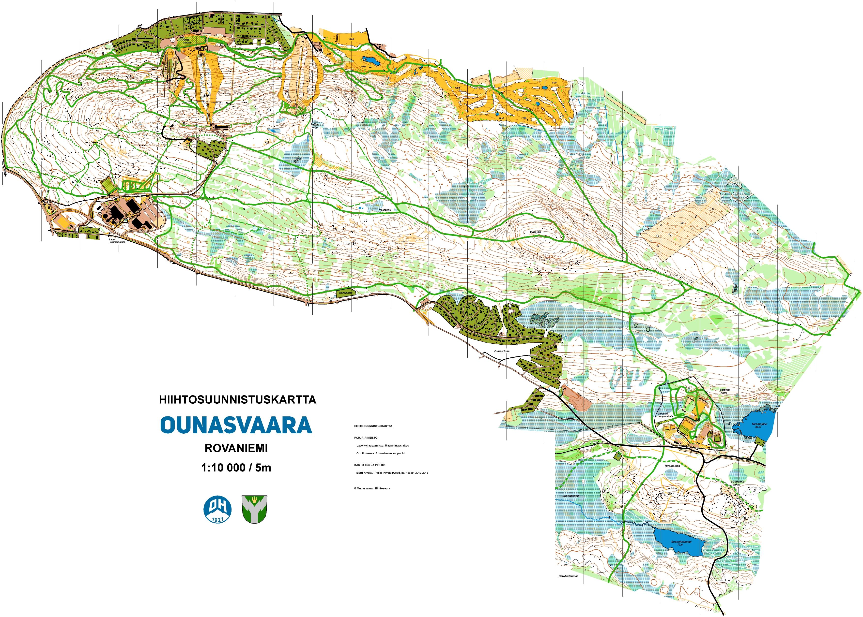 Maps World University Ski Orienteering Championship Rovaniemi 23
